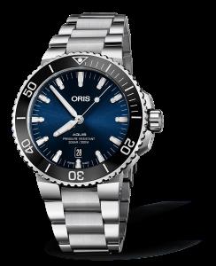 Oris Aquis Date Blue Dial