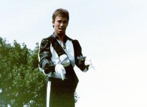 Rick Lunn Cavaliers drum major 1983