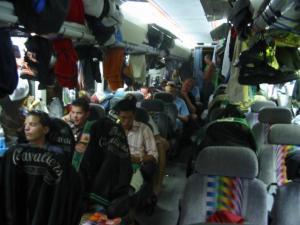 Cavaliers tour bus 2004