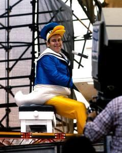 Elton John 1980 Donald Duck