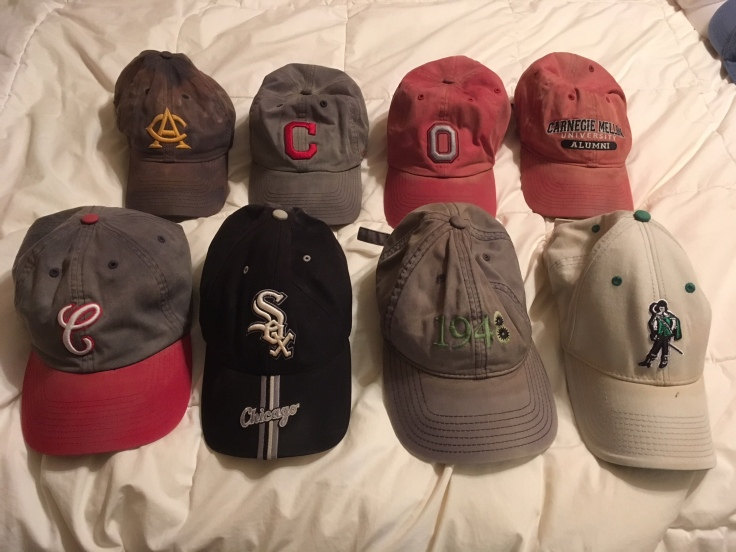 Ballcaps suitable for mowing the lawn
