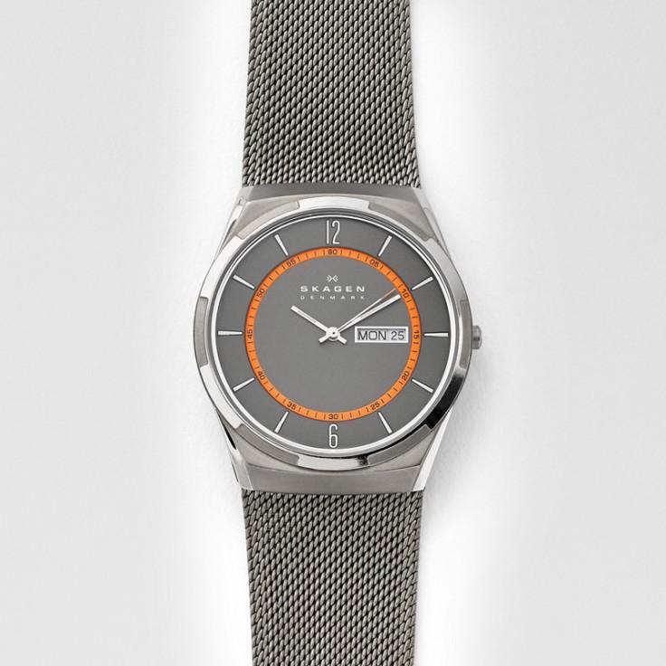 Skagen Melbye Titanium Steel Mesh Watch