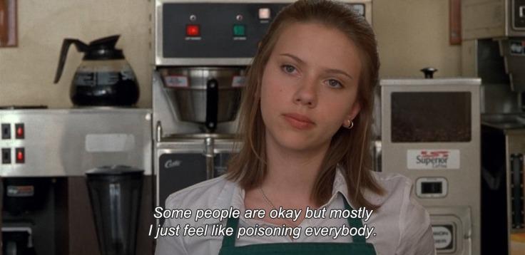 Waitress Ghost World 2001 movie