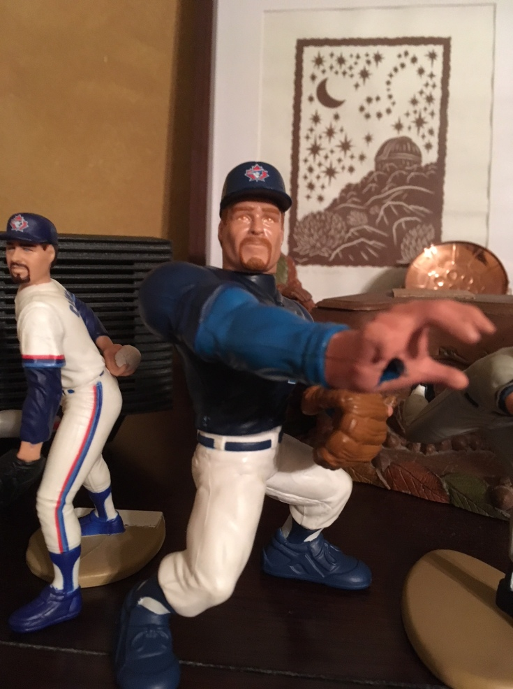 Roger Clemens Blue Jays Action Figure Roided Up