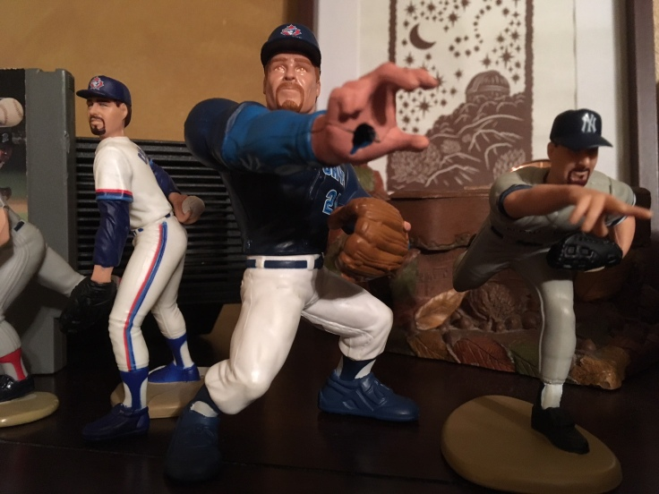 Roger Clemens action figures