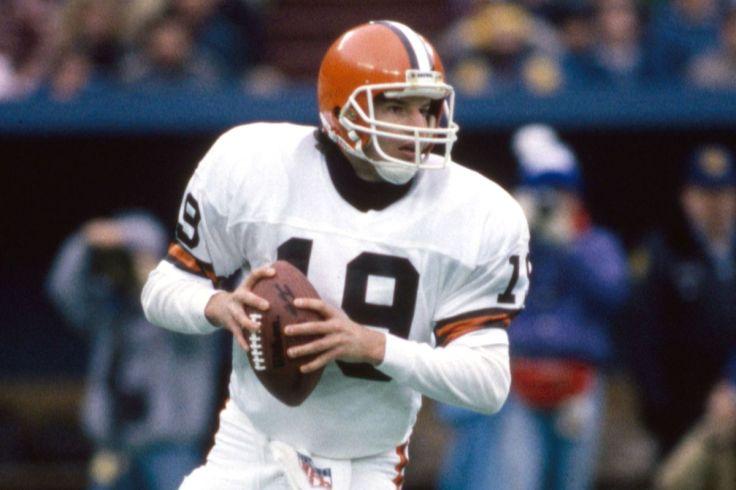 Bernie Kosar Cleveland Browns quarterback