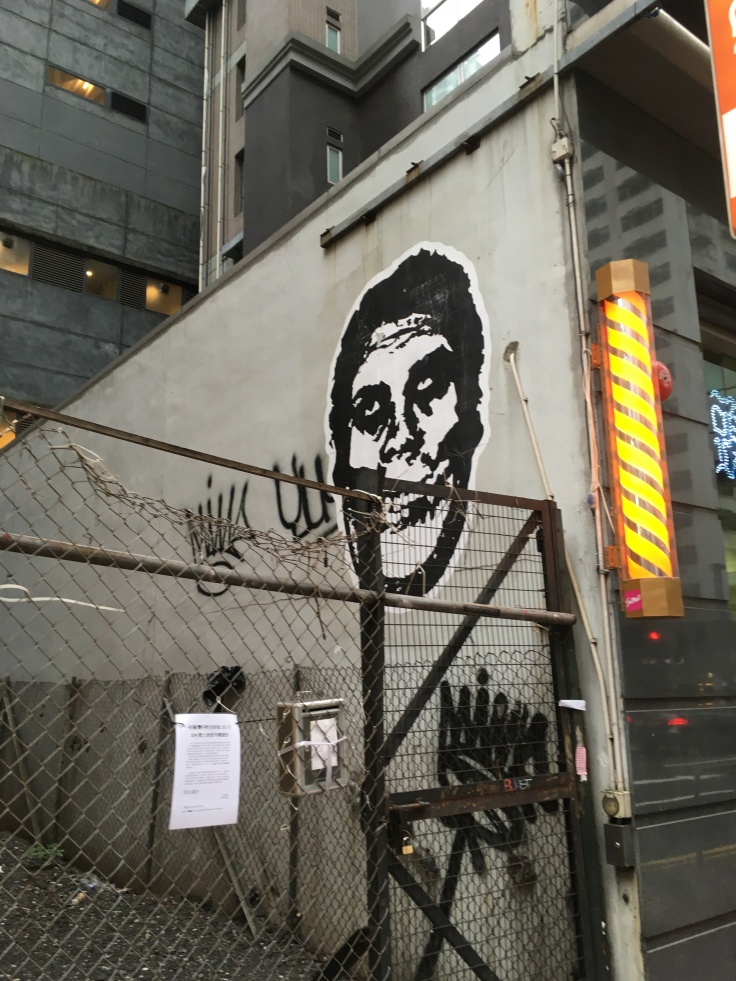 Graffiti Wan Chai Hong Kong