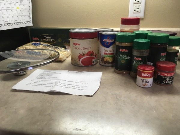 Spices and recipe for Skyline Chili