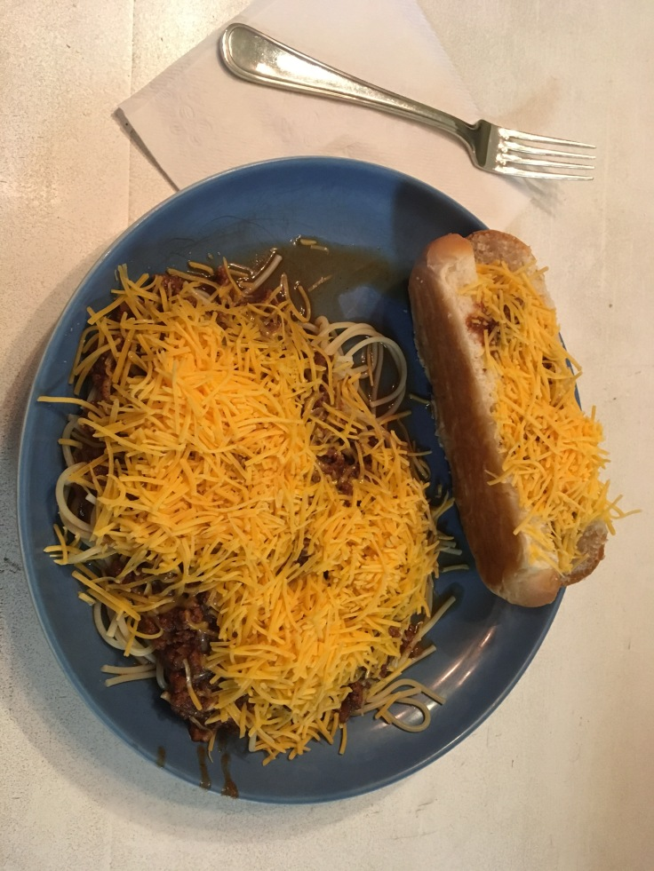 Sky Line Chili and Cheese Coney