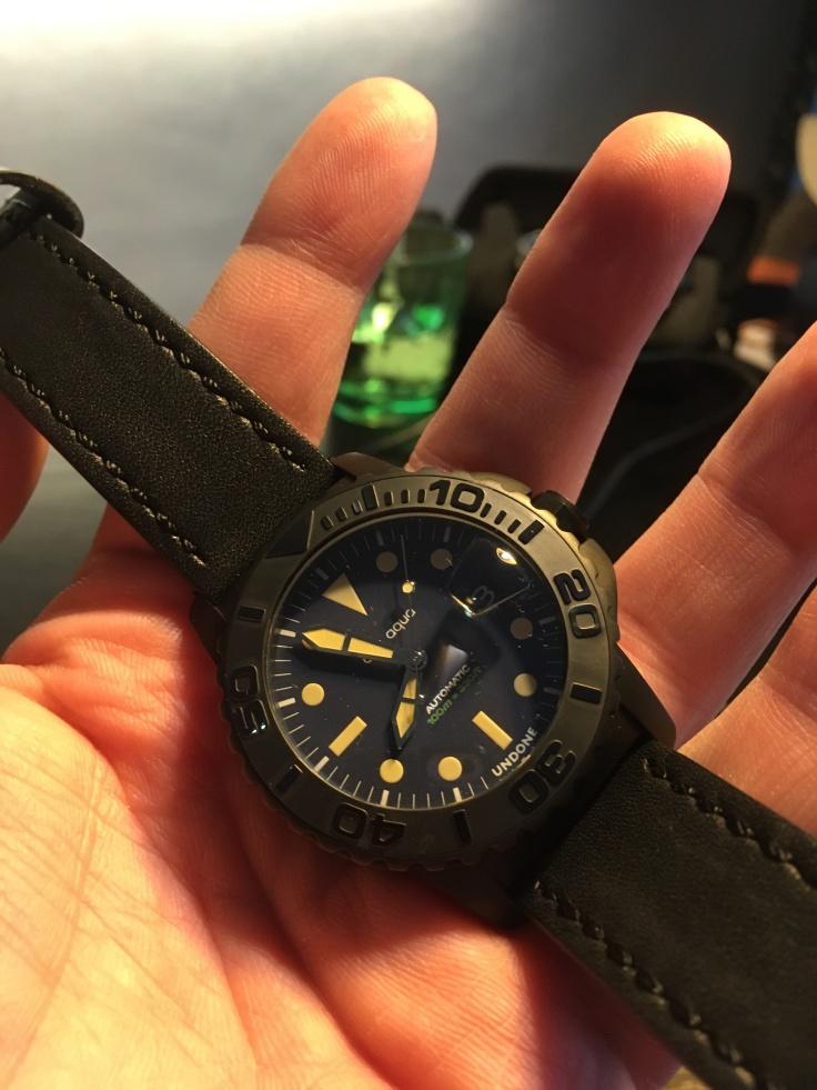 Custom Undone Aqua Diver