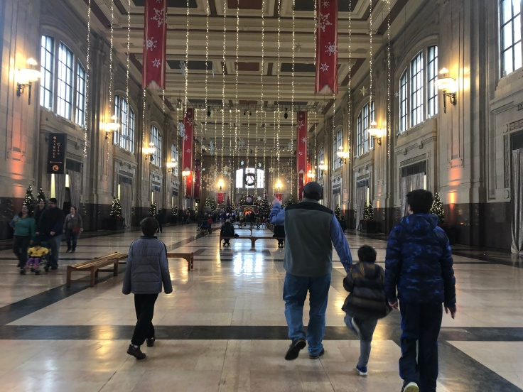 Union Station Kansas City Christmas 2018