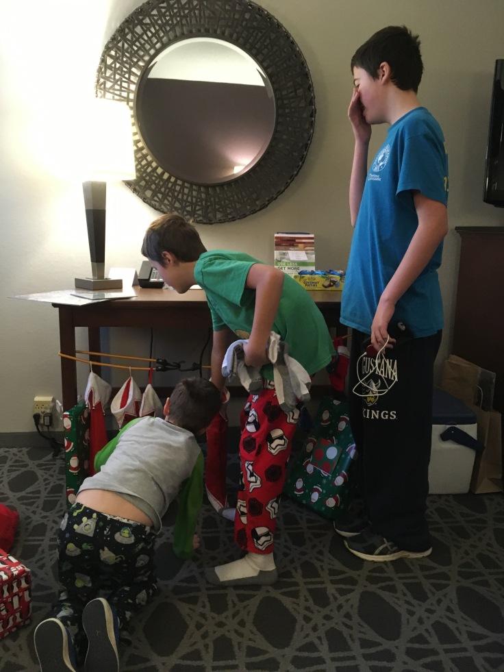 Traveling Christmas Stockings