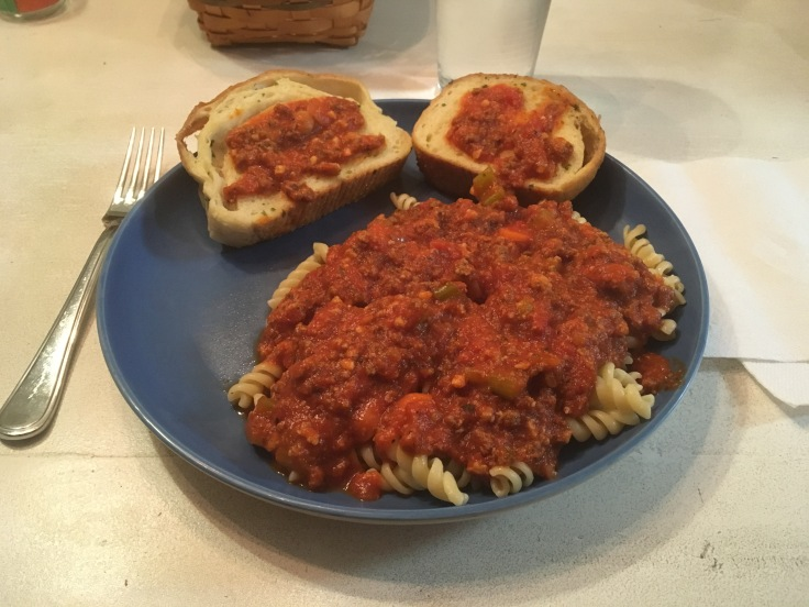 Amped Up Spaghetti Sauce