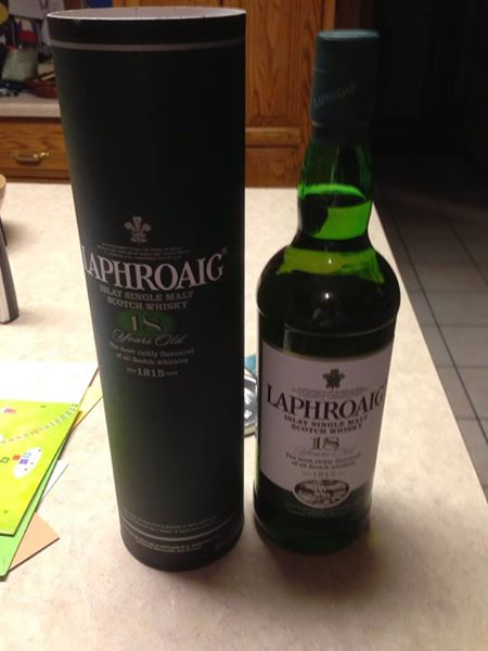 Laphroaig 18 year Single malt Scotch