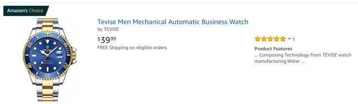 My God Amazon Tevise Listing