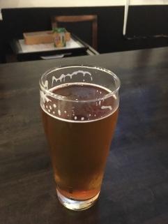 IPA pint at Redondo Brewing Co.