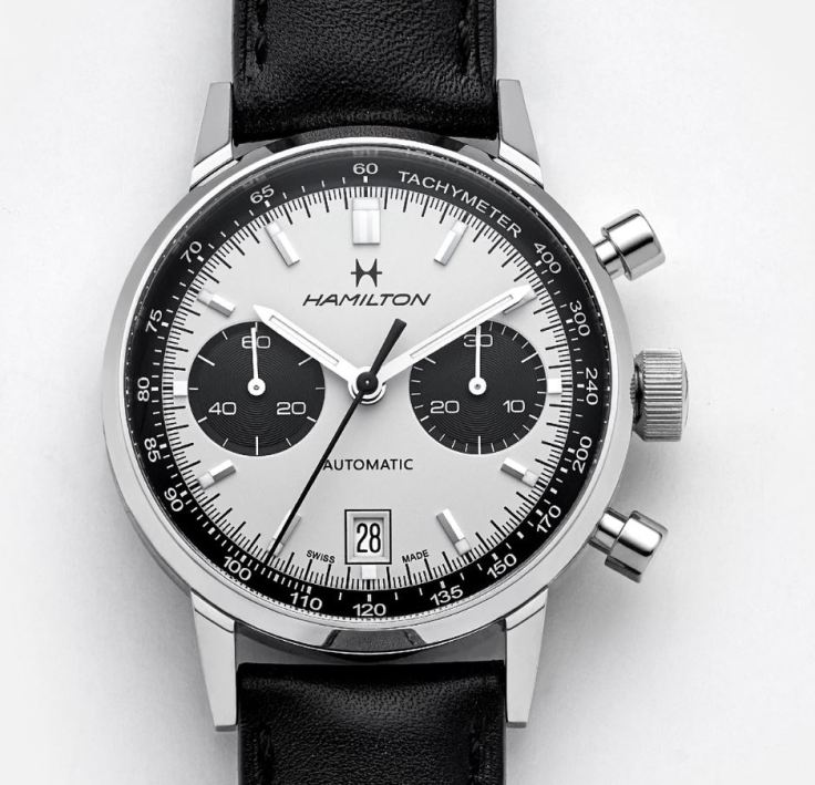 Hamilton Intra Matic Auto Chrono Close