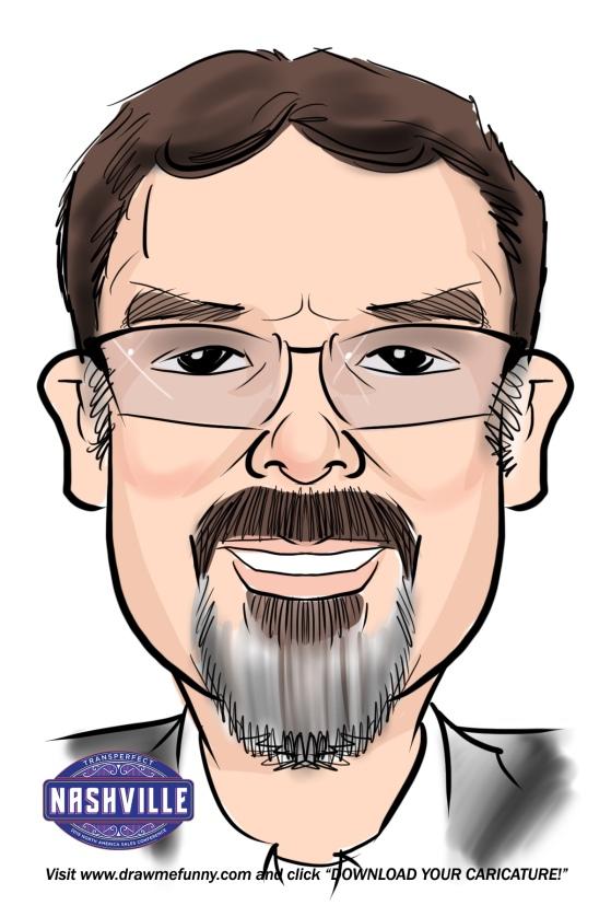 Colt Foutz caricature 2019