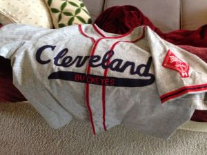 Cleveland Buckeyes 1946 jersey