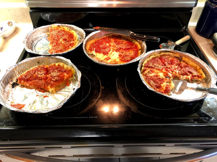 Lou Malnati's Chicago Deep Dish Pizza Baked at Home